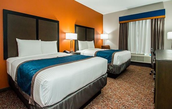 Executive Inn Fort Worth - 2 Double Beds