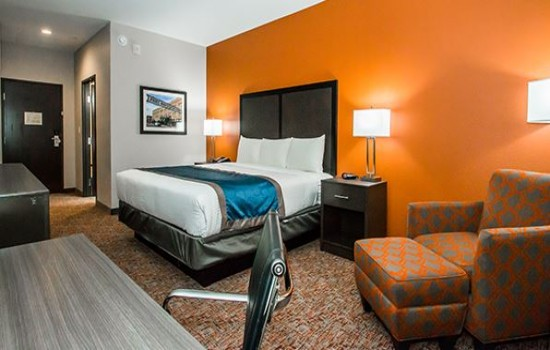 Executive Inn Fort Worth: King Room