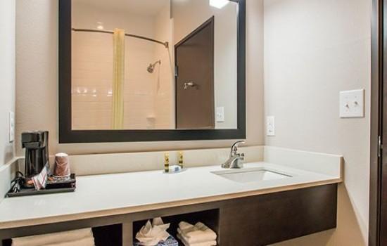 Executive Inn Fort Worth - Private Bathroom